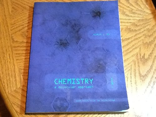 Chemistry a Molecular Approach custom edition for Mt. San Jacinto College