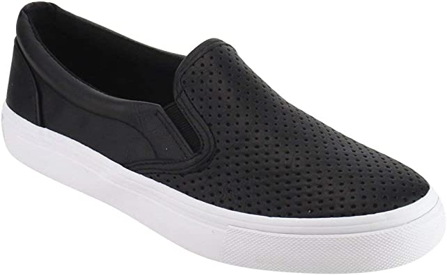Women's Slip On White Sole Shoes