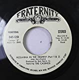 BOB HARRIS, SR. FEATURING THE CASINOS 45 RPM HOSANNA IN THE HIGHEST (PART 1 &2) / MY BUDDY (LETTER TO MY SON)