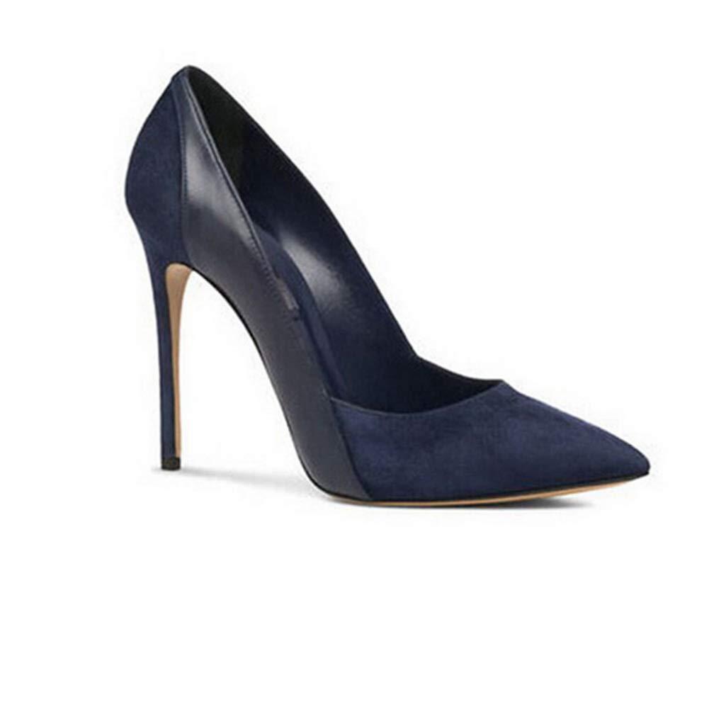 Aimint ERR00233, Damen Durchgängies Plateau Sandalen mit Keilabsatz, Blau - - - blau - Größe  37 0ef58a