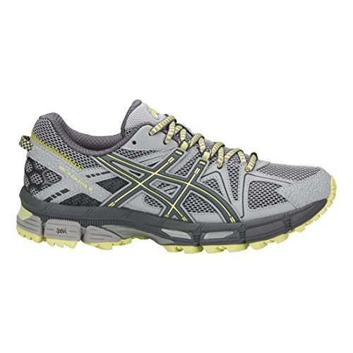 Asics Womens Gel-kahana 8 Trail Runner Mid Gray / Carbon / Ribalta