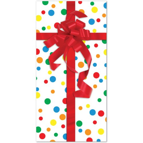 Party Gift Door Cover Party Accessory (1 count) (1/Pkg) ()