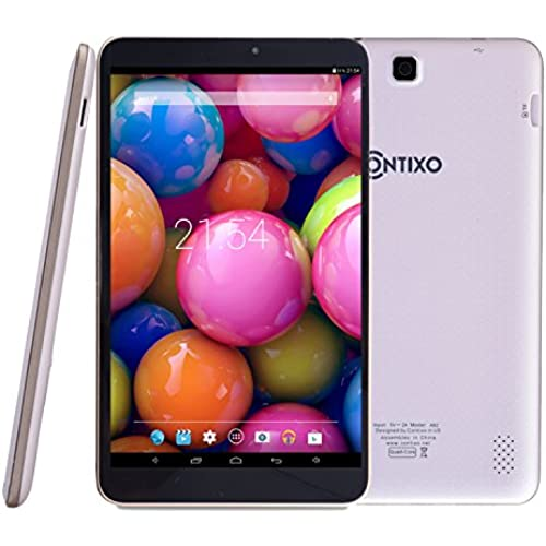 Contixo A82 8 Google Android Tablet Quad Core 8GB, Android 4.4 KitKat, IPS Screen, Bluetooth, White Coupons