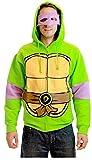 Teenage Mutant Ninja Turtles Costume Adult Hooded Sweatshirt with Detachable Eye Mask