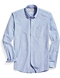 Men's Standard-Fit Long-Sleeve Solid Oxford Shirt