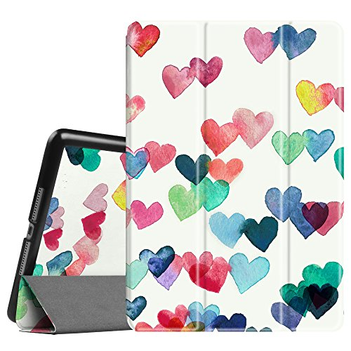Fintie iPad 9.7 Inch 2017 Case - Lightweight Slim Shell Standing Cover with Auto Wake / Sleep Feature for Apple iPad 9.7