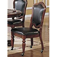 Bellagio Caster Chair - Set of 2