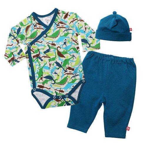 UPC 754155364998, Zutano Baby-Boys Dinos Long Sleeve Body Wrap, Multi, Newborn