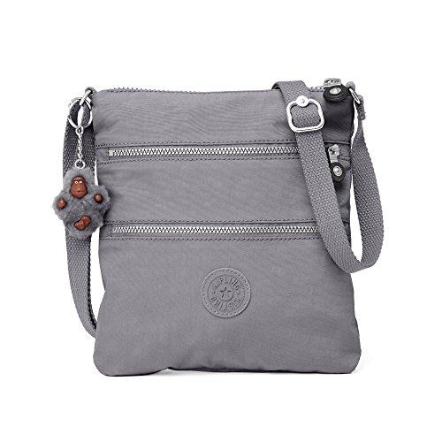 Kipling Women's Keiko Crossbody Mini Bag One Size Dusty Grey by Kipling