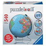 Globe 540 Piece 3D Puzzle Ball by Ravensburger