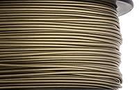 HATCHBOX 3D PLA-1KG1.75-BRNZ PLA 3D Printer Filament, Dimensional Accuracy +/- 0.05 mm, 1 kg Spool, 1.75 mm, Bronze from HATCHBOX