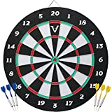 Viper by GLD Products Double Play 2-in-1 Baseball Dartboard with Darts