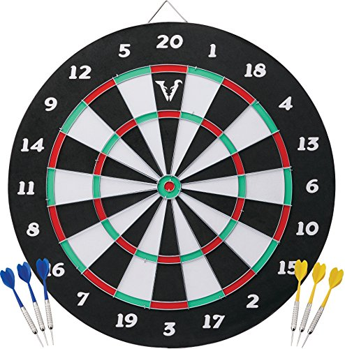 (Viper Double Play 2-in-1 Baseball Dartboard with Darts)