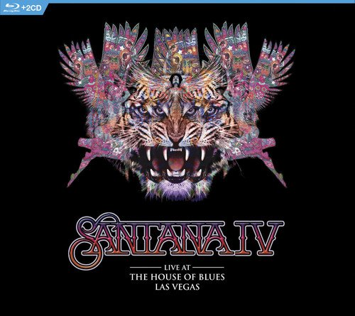 Blu-ray : Santana - Live At The House Of Blues, Las Vegas (With CD, Digipack Packaging, 3 Disc)