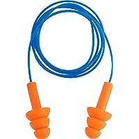 Protetor Auditivo Tipo Plug, De Silicone, Com Cordão Em Pvc, Vonder Vdo2496 Vonder