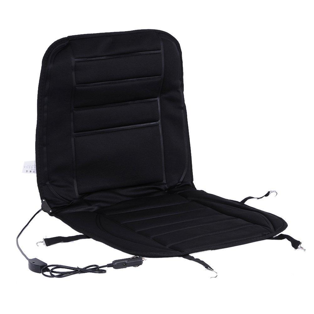 Auto Beheizte Sitzkissen, XGZ schwarz 12 V Sitz Hot Heizung beheizt Pad Hot Pad Mit Wä rmer fü r konstante Temperatur Schutz Funktion