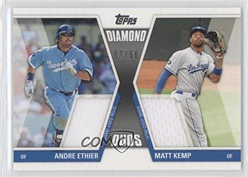 Ddr2 Series - Andre Ethier; Matt Kemp #7/50 (Baseball Card) 2011 Topps Update Series - Diamond Duos - Dual Relic #DDR-2