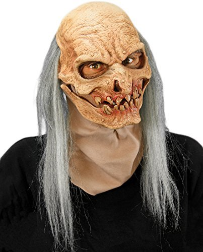 Zagone Studios Grave Digger Moving Mouth Mask Novelty Item -