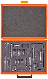 Corning Borosilicate Glass Non Sterile Deluxe Microchemistry Kit Components with 7/10 to 4/10 Standard Taper Joints, 343mm L x 256mm W x 63mm H