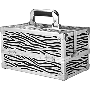 BARSKA Cheri Bliss Cosmetic Case, 12 x 7.25 x 6-Inch