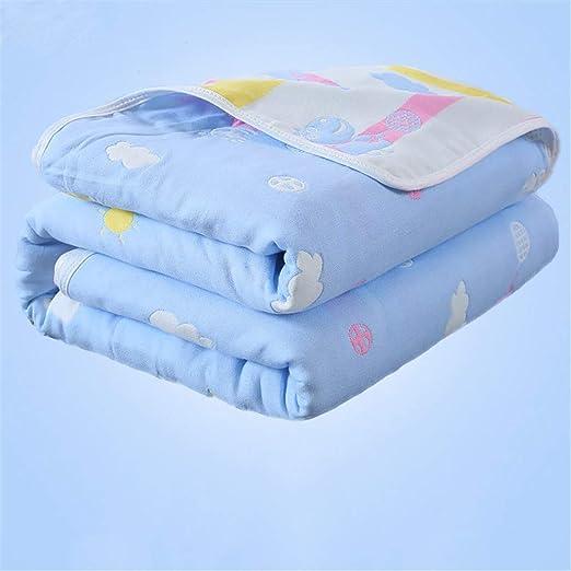 Bebé manta algodón recién nacido bebé aire acondicionado edredón ...