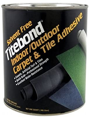 Franklin International 1 Quart Titebond Solvent Free Indoor & Outdoor Carpet &