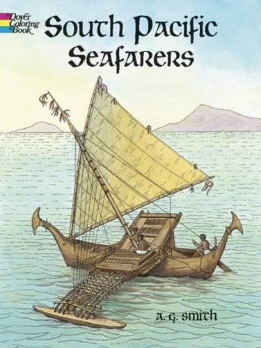 Read Online South Pacific Seafarers (Dover History Coloring Book) PDF
