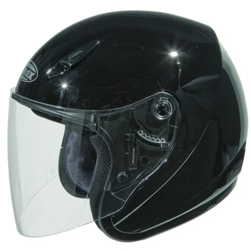 GMAX ジーマックス GM17 Open Face Helmet ヘルメット ブラック M(57~58cm) B009Y4P4GS