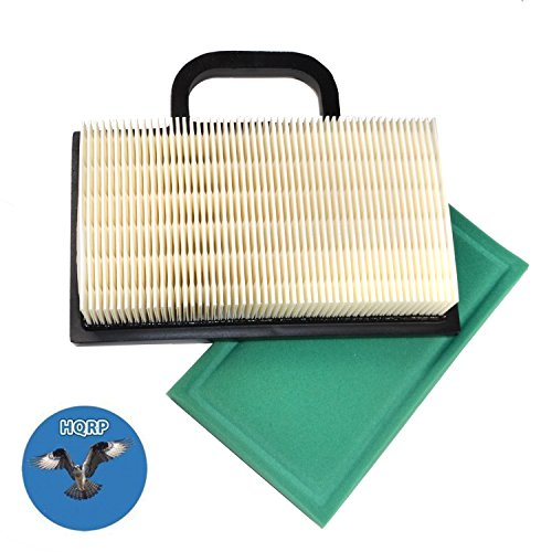 - HQRP Air Filter Cartridge w/ Pre-cleaner for Briggs & Stratton 698754, 691007, 499486 / 499486S, 5063, 5069 & 273638 / 273638S Pre-filter Replacement + HQRP Coaster