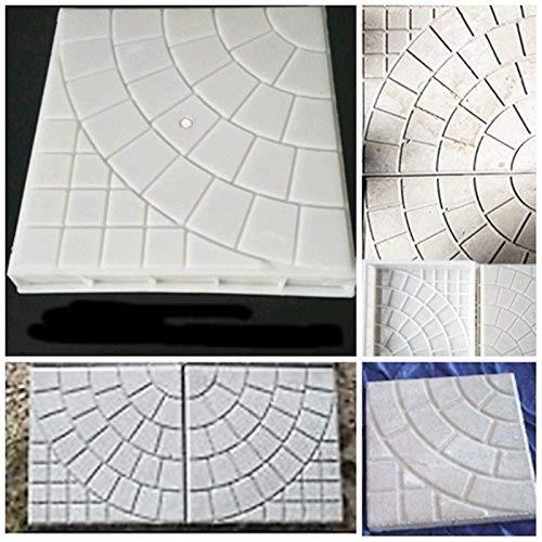 Cheap  JTW- DIY Square Shape Home Garden Path Concrete Brick Mold Paving Pavement..