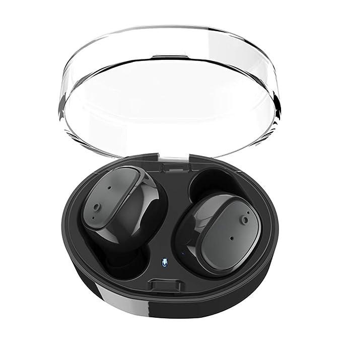 Auricolari Bluetooth - ASMOTIM Coppia di Auricolari Wireless Bluetooth 4.1  Cuffie Bluetooth con Microfono Incorporato e 81643b70a2e1