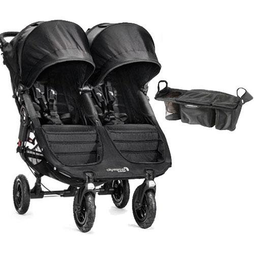 Baby Jogger - City Mini GT Double Stroller with Parent Console - Black Black