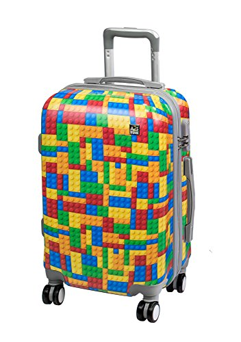 Lego Luggage Bag Hard with A2S Spinner Polar Airplanes Wheels Suitcase 55x35x22cm Cabin Lightweight Carry Bear Print 8 on Shell amp; Durable 15pw5q