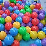 200pcs 7cm Random Color Ball Fun Soft Plastic Ocean Ball Baby Kid Swim Pit Toy