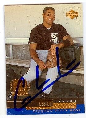 Autograph 120340 Chicago White Sox Sc 2000 Upper Deck No....