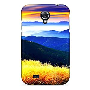 Case Cover Beauty On Mountains/ Fashionable Case For Galaxy S4