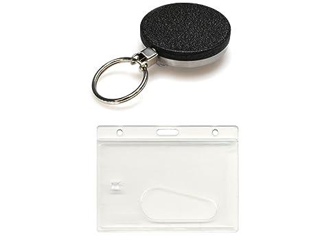 Amazon.com: ID Card It Heavy Duty alambre de acero ID Badge ...