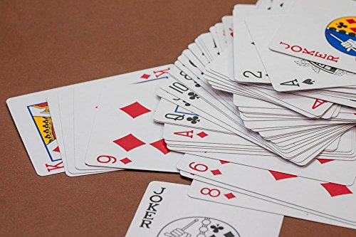 LAMINATED 36x24 Poster: Card Game Cards Playing Cards Heart