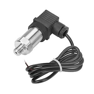 4-20mA Pressure Transducer Sensor, 8-32V Pressure Transmitter Pressure Transducer Sender with G1/4 Connector(0-0.2MPA)