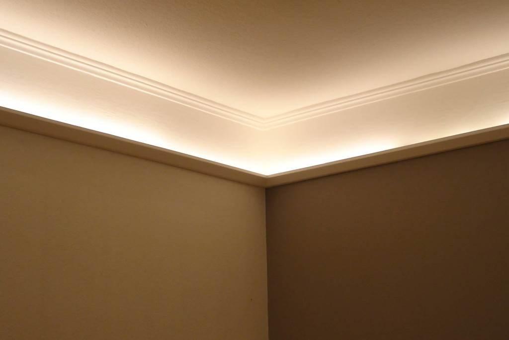 BENDU – Moderne Lichtvouten bzw. Stuckleisten für die indirekte LED ...