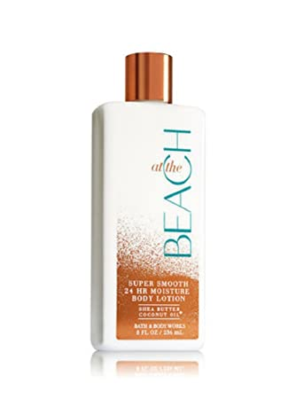 Bath Body Works AT THE BEACH Super Smooth 24 Hour Moisture Body Lotion