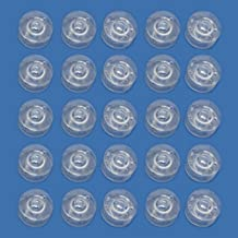Sonline 25 Clear Plastic Sewing Machine Bobbins Fits Singer Brother Janome Toyota