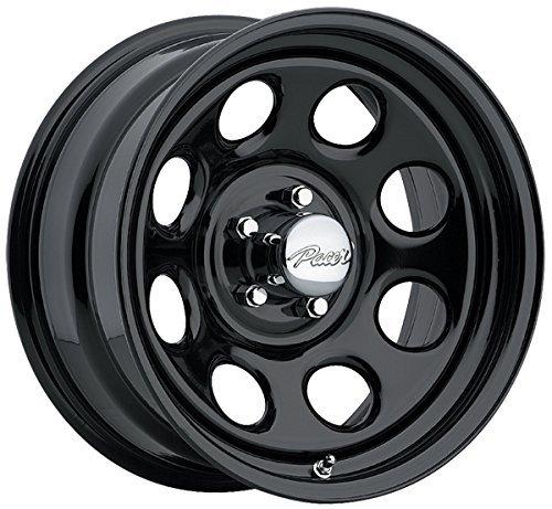 Pacer 297B SOFT 8 BLACK Black Wheel (16×8″/5×4.5″, +12mm Offset)