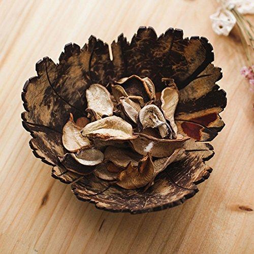 Soap Dish, Bathroom Soap Holder, Handmade Coconut Wood Dish, Jewelry Holder, Accessories Storage (Leaf 02) (Dish Small Leaf)
