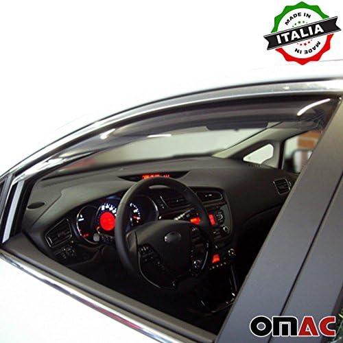 Omac Gmbh Kia Ceed Variant 5 Türen Windabweiser Regenabweiser 2 Tlg Satz Vorne Ab 2012 Auto