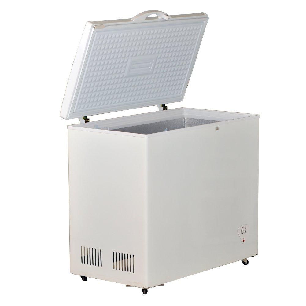 Smad Solar Power Chest Freezer Indoor and Outdoor Freezer Low Noise,8.3 Cu.ft.