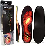 VOCOFA Caresole Plantar Fasciitis Insoles Pinnacle Orthotic Insole Insert for Flat feet Over Pronation