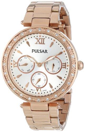 Pulsar Women's PP6104 Analog Display Japanese Quartz Gold -
