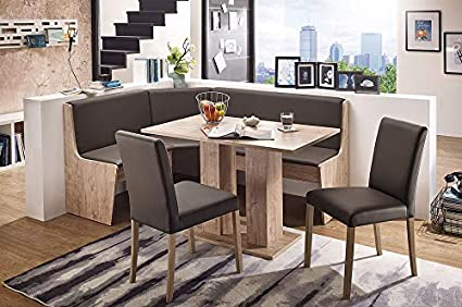 Amazon.com & Amazon.com - German Furniture Warehouse Nook Table Sylt Breakfast ...