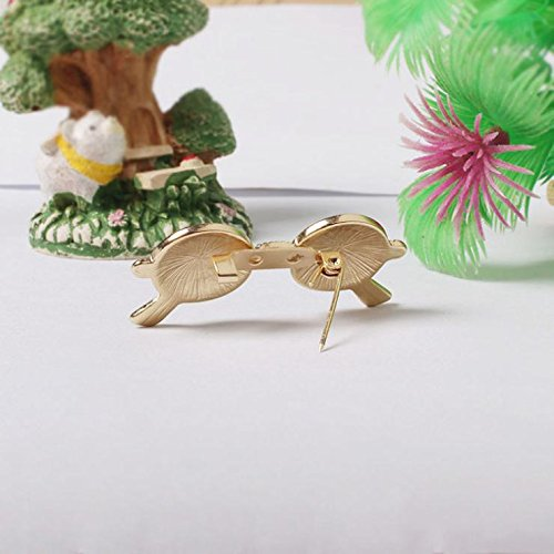 Kalapure Girls Fashion Sunglasses Super Dark Lens Lapel Pin Brooch by Kalapure (Image #3)